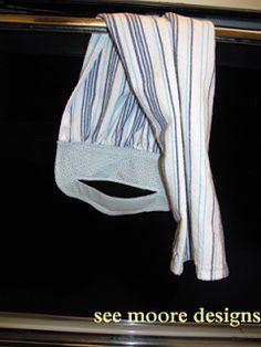 Hot Flash'n Craft'n: Easy Hanging Towel Tutorial