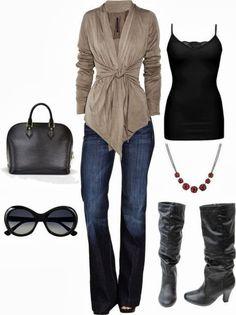 Fashion Pixiie: Autumn Winter 2013/2014 Look - Combination Ideas