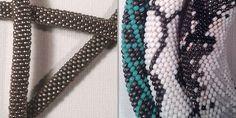 Tuto bracelets / colliers spirales perles rocaille au crochet