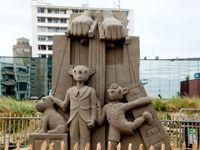 EK Zandsculpturen 2013