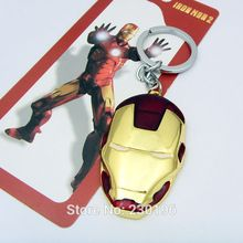 Marvel Super Hero The Avengers homem de ferro máscara de Metal chaveiro pingente chaveiro //Price: $US $15.12 & FREE Shipping //    #marvel