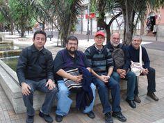 por las calles de Bogotá