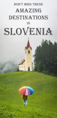 6 Amazing Things to do in Slovenia!, TRAVEL, Considerably cheaper and less touristy than it's neighbors, Slovenia has been gaining popularity with tourists from around the globe. European Destination, European Travel, Amazing Destinations, Travel Destinations, Image Designer, Slovenia Travel, Slovenia Tourism, Visit Slovenia, Bohinj