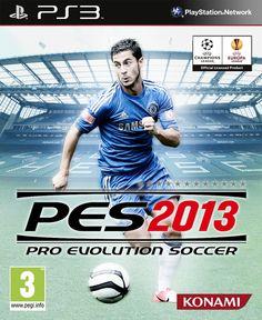 Custom Pro Evolution Soccer 2013 Cover - Eden Hazard - Chelsea
