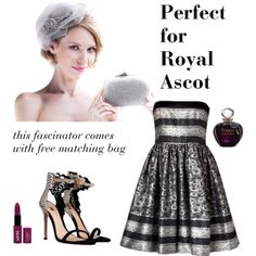 """perfect for Royal Ascot"" by ella-gajewska on Polyvore"