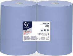 Rola industriala albastra reciclata 412024 Papernet, 180 m, 3 straturi.