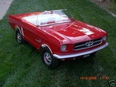 Looking for a Classic Mustang battery operated, ride on car for our grandson... all I'm finding are the new body styles...  would LOVE one like this for him!