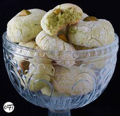 C'est ma fournée ! : Les amaretti moelleux à la pistache