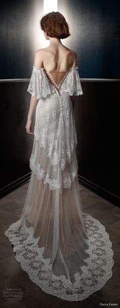 galia lahav spring 2018 bridal off the shoulder angel sleeves sweetheart neckline full embellishment capelet vintage a line wedding dress sweep train (lizzy) bv -- Galia Lahav Spring 2018 Wedding Dresses