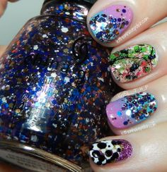 LTHP's Crazy Birthday Nails! Turning 27 in Rad Nails