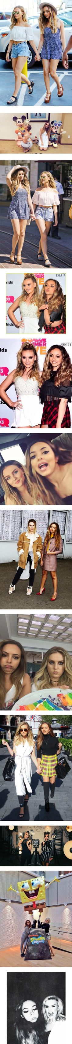 Jerrie by croonessii on Polyvore featuring little mix, people, photo, perrie, jade, jerrie, perrie edwards, jade thirlwall, fotos and mens