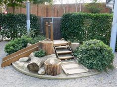 Backyard Privacy Fence Landscaping Ideas On A Budget 291 . - Backyard Privacy Fence Landscaping Ideas On A Budget 291 …, - Privacy Fence Landscaping, Backyard Privacy, Landscaping Ideas, Backyard Landscaping, Backyard Stream, Natural Landscaping, Natural Play Spaces, Outdoor Play Spaces, Outdoor Areas