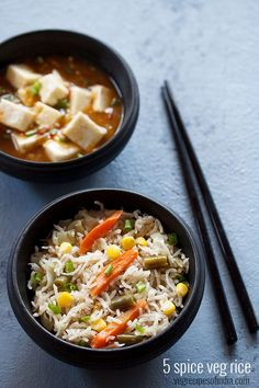 5 spice rice recipe with step by step photos - aromatic chinese style 5 spice veg rice. five spice is a blend of five spices that is used in chinese cuisine. these 5 spices are