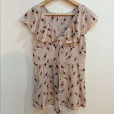 Forever 21 Boutique Blush Romper Ultra feminine blush romper with pockets. Concealed zipper. Excellent condition. Other