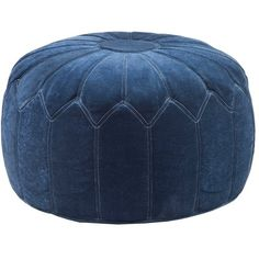 Adelpha Upholstered Ottoman ($83) ❤ liked on Polyvore featuring home, furniture and ottomans