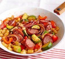 Healthy Sausage Breakfast Skillet