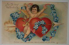 https://flic.kr/p/4oSJHD | Vintage Valentine's Day Postcard