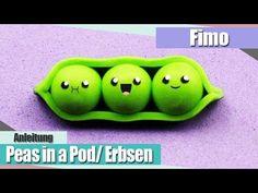 IFimo FridayI Kawaii Peas in a Pod/Erbsen I Anielas Fimo