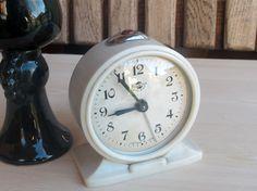 Retro Alarm Clock, Soviet Alarm Clock Sevani, Working Mechanical Alarm Desk Clock, Rustic Home Decor