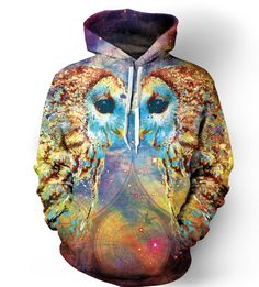 Owl Language Hoodie, for her ❤