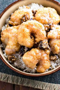 Make honey walnut shrimp at home! Light tempura, tender shrimp, candied walnuts, all covered in a sweetly tart sauce is a delicious meal for all to enjoy.