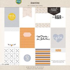 The Lilypad :: Journal Cards :: downtime (journal cards)