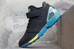 "adidas ZX Flux NPS Mid ""Black, Blue & Yellow"""