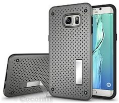 BEST Galaxy S6 Edge Plus Case, Cocomii® [HEAVY DUTY] Net Case *NEW* [Ultra Radiator Armor] Premium Shockproof Kickstand Bumper Case - Full-body Rugged Hybrid Protective Cover Bumper Case for Samsung Galaxy S6 Edge Plus • Unique, rugged design with style and the utmost protection • Raised edge around the front lip for face-down protection • Extreme protection from drops and scratches • Unique, heat radiation net design that keeps your device cool • 5% Off Coupon Code 6BXA7NOZ This Week Only!