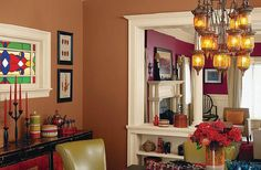 Sherwin Williams Brandywine- Main Wall in Dining Room