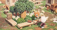 Animal Crossing Wild World, Animal Crossing Guide, Animal Crossing Villagers, Animal Crossing Qr Codes Clothes, Kleiner Pool Design, Ac New Leaf, Motifs Animal, Island Design, Animal Games