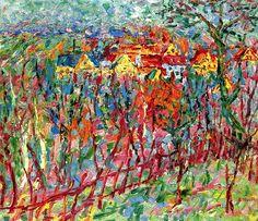 lonequixote:Cospeda Village -Emil Nolde