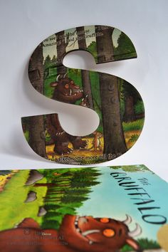 Gruffalo Story Personalised Wooden Name by TheDutchHospital