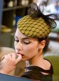 Bibi Diana noeud en crin  Mademoiselle Chapeaux