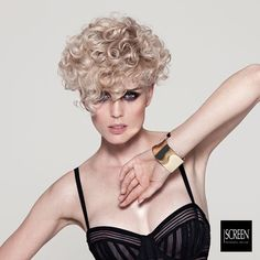 Hair by: Tagliati X il Successo Artistic Team for SCREEN Professional Hair Care Made in Italy products for salons only