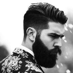 Beard and undercut, yes please.