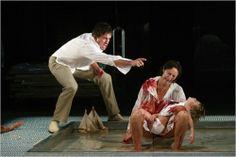 Fiona Shaw as Medea, directed by Deborah Warner, National Theatre, London