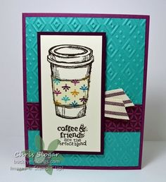 Stampin' Up! Perfect Blend with Bohemian and Boho Chic