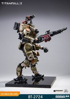New Photos of the Titanfall 2 BT-7274 Deluxe Figure by McFarlane Toys - The Toyark - News