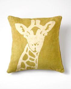 Coldwater Creek Giraffe pillow  $39.95