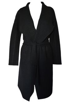 LINE | SVEN BELTED WOOL COAT - Size XS