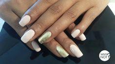 Pink + Gold nail foil