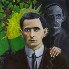 Original Portrait Painting by Antoon Knaap Irish Nationalism, Easter Rising, Original Art, Original Paintings, Irish Catholic, Extraordinary People, Dark Backgrounds, Roisin Dubh, Buy Art
