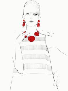 Floyd Grey Fashion illustrations
