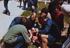 Kent State Shootings, 1970. The National Guard open fired on students killing four during protest of Viet Nam War