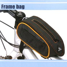 Waterproof Cycling Bike Bicycle Frame Pannier Front Tube Bag Pouch