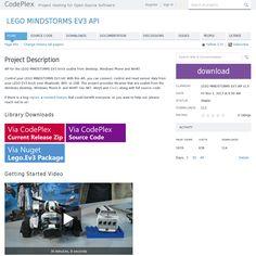 LEGO Mindstorms EV3 API