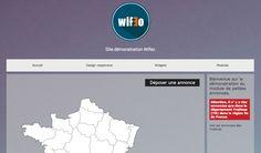 Voir le site démonstration Wifeo du nouveau module de petite annonces:  http://demonstration.wifeo.com/service-petites-annonces.html  Créer un site de petites annonces immobilières (vente et/ou location) gratuitement, facilement et rapidement avec Wifeo http://www.wifeo.com/petites-annonces/