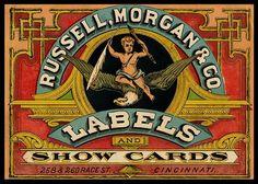 Russell, Morgan & Company Trade Card via sheaff-ephemera.com