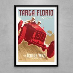 Guy Allen — Achille Varzi - Targa Florio 1930