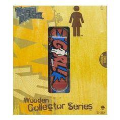 Tech Deck Alex Olsen Fingerboard Wooden Collector Series